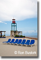 Coco Cay Beach Chairs