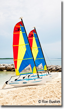 Coco Cay Sailboats