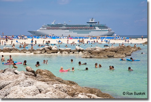 Swimming at Coco Cay 1